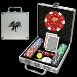 100 Poker Chip Set - Case Printed Only