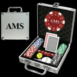 Fathers Day Gifts - Custom Poker Chip Sets
