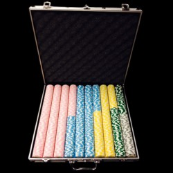 1000 Custom Poker Chip Set