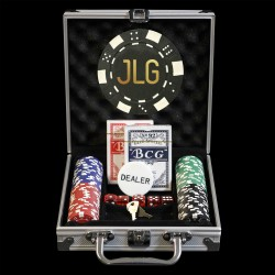 100 Custom Poker Chip Set