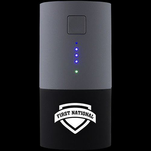 Custom Logo Smart Charge 2-in-1 Power Bank