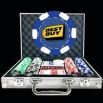 Premium Custom Poker Chip Set - 6 Stripe