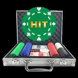 Value Custom Poker Chip Set - Suited Design