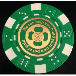 Hot Stamped Custom Poker Chips - When Value Doesn't Mean Cheap