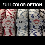 300 Premium Custom Poker Chip Set - Aluminum Case