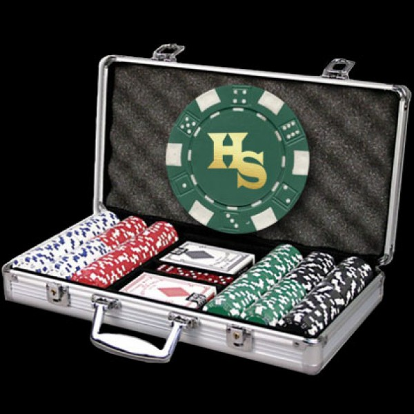 Custom Dice Poker Set | Personalized Discount Poker Set