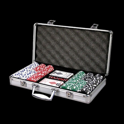 300  Poker Chip Set - Blank