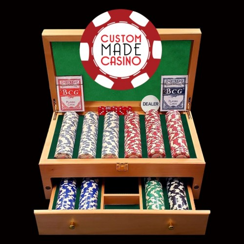 500 Grand Luxe Poker Chip Set