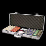 500 Poker Chip Set - Case Printed Only