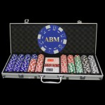 1000 Logo Poker Chip Set