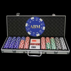 500 Custom Poker Chip Set