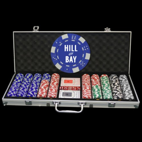 500 Logo Poker Chip Set
