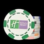 The 6 Stripe Custom Poker Chip Deluxe Business Card