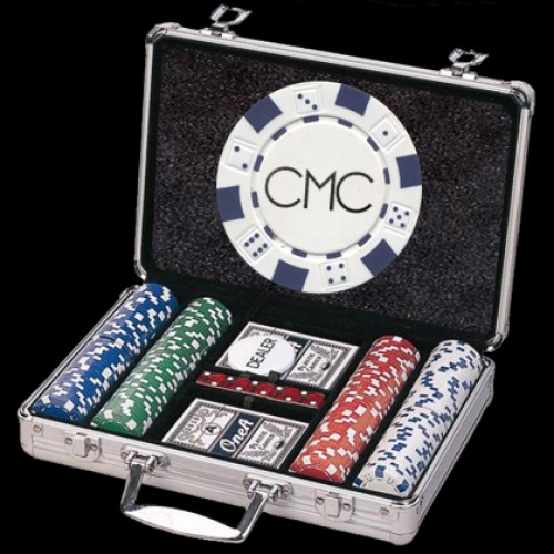 200 Custom Poker Chip Set