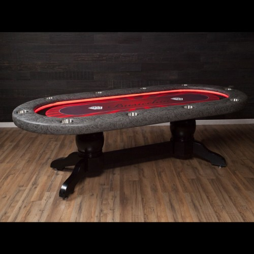 THE ELITE ALPHA LED LUXURY POKER TABLE