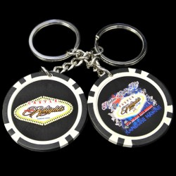 Custom Poker Chip Key Chains