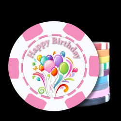 Birthday Custom Poker Chips - Her