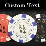 300 Custom Poker Chip Set