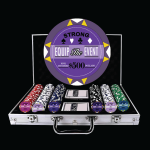 Pro Elite Gaming Royalty Custom Poker Chip Set - 12.5G Clay Composite