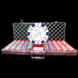 Special Edition Pink 500 Custom Poker Chip Set