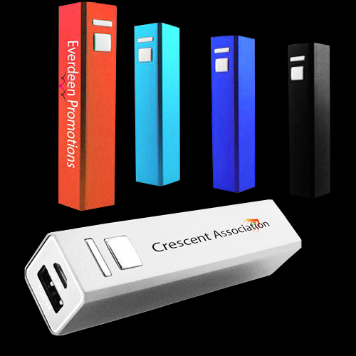 Custom Logo Rectangle Power Bank