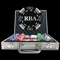 Value Suited Custom Poker Chip Set - Royal Design