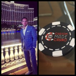 The Vegas Package - Custom Suit and 300 Custom Poker Chips