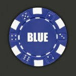 Wedding Hot Stamp Custom Poker Chips