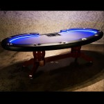 THE LUMEN HD POKER TABLE