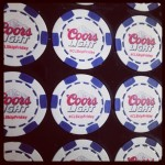 6 Stripe Custom Poker Chips Deluxe -  Direct Print Design