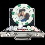 Premium Custom Poker Chip Set - Dice