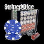 1000 Custom Poker Chip Set w/ Acrylic Container
