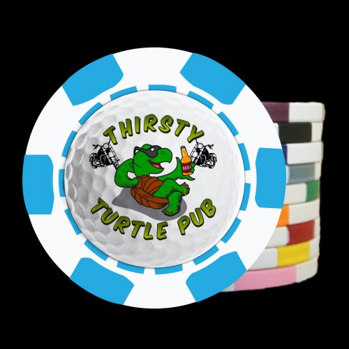 The 3D Design Custom Poker Chip Golf Ball Marker