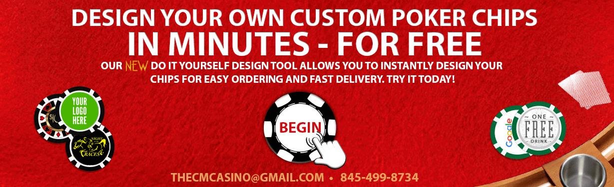design custom poker chips